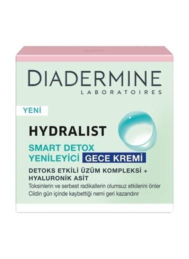 Diadermine Hydralist Smart Detox Night Cream 50ml Renksiz